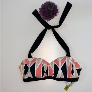 Gianni Bini Swimsuit Bikini Top Size 32DDD New